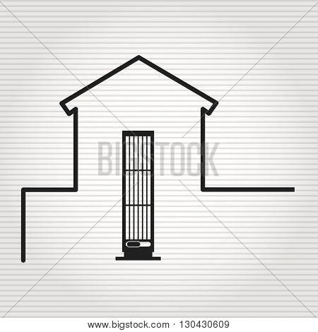 smart house design, vector illustration eps10 graphic