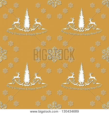 Winter Holiday Pattern for fabric, wrapping paper,etc. Print colors used. Pattern can be found in swatches.