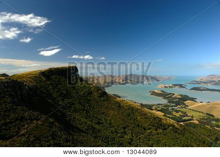 Lyttelton Harbour View