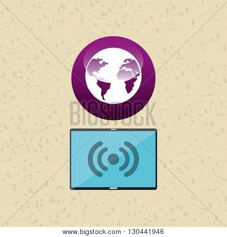 wearable technology design, vector illustration eps10 graphic