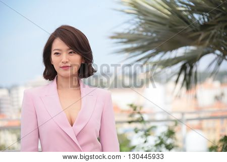 Chun Woo-Hee attend 'The Strangers (Goksung)' Photocall during the 69th annual Cannes Film Festival at the Palais des Festivals on May 18, 2016 in Cannes, France.