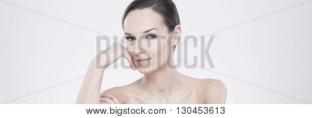 Woman With Hypnotizing Look