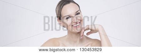 Woman With Smile Is Beautiful