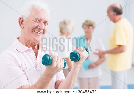 Physical Effort Helping Him Stay Active For Long
