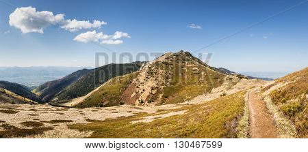 Little Fatra Hills - Amazing Mountains In Slovakia, Europe