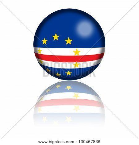 Cape Verde Flag Sphere