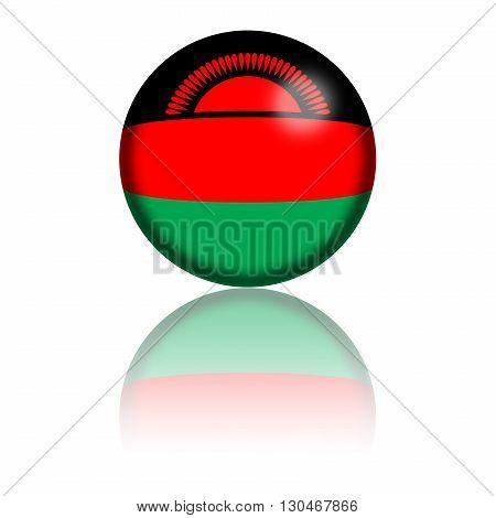 Malawi Flag Sphere