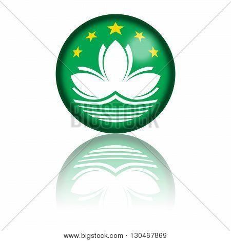 Macau Flag Sphere