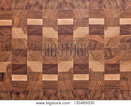Background from wooden whetstones of different breeds of a tree