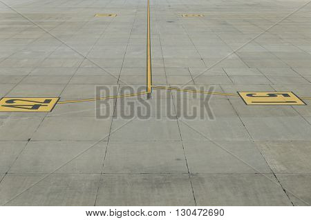 Airplane Parking In Airport