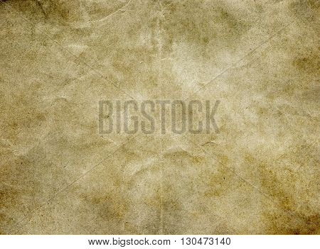 Aged stained paper background for the design.