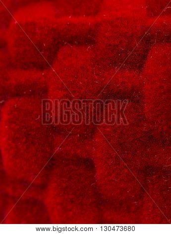 beautiful red velvet  gift, fashion luxury background