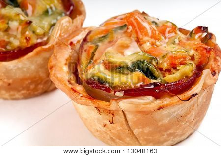 Homemade Vegetables Quiche