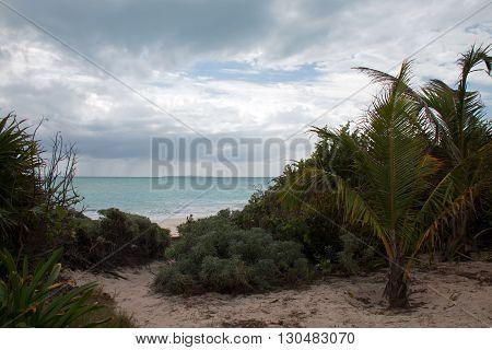 Isla Blanca Beach View - Cancun Mexico