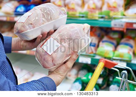 Buyer Of Chicken Meat In Shop