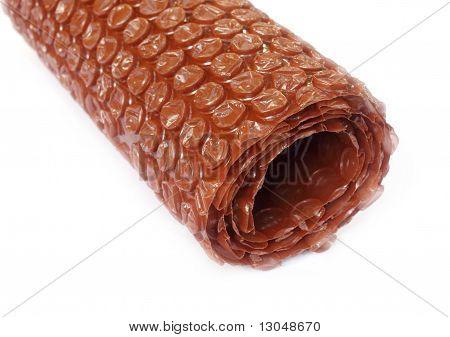 Close up of a bubble wrap