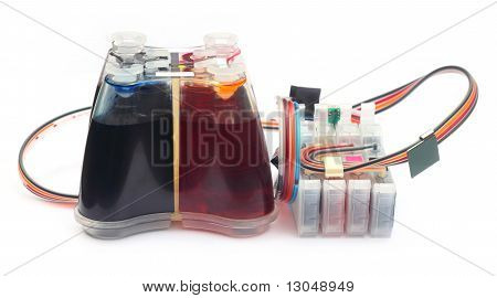 Auto refillable printer cartridge