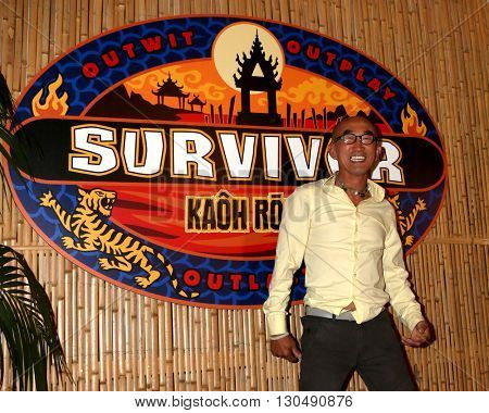 LOS ANGELES - MAY 18:  Tai Trang at the Survivor: Kaoh Rong Finale at the CBS Radford on May 18, 2016 in Studio City, CA