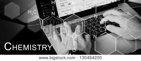 Chemistry Science Experiment Formula Concept
