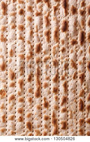 Jewish Matzah Kosher Macro Vertical Background