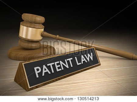 Laws for protecting patents and intellectual property, 3D rendering