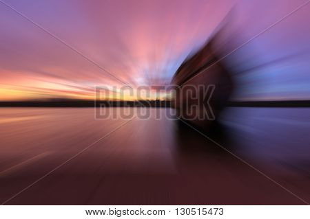 Abstract wallpaper , Abstract motion blur background , Abstract blurred evening background , Abstract blurred textured background , Blurred nature background. Abstract Radial Motion Blur