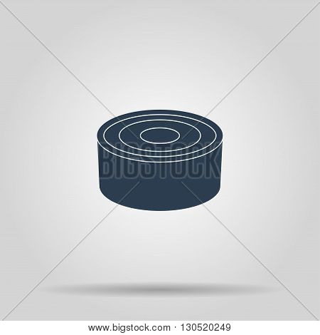 cans - canned food. Vector concept illustration for design.