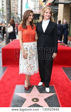 LOS ANGELES - MAY 19:  Kristian Alfonso, Deidre Hall at the Deidre Hall Hollywood Walk of Fame Ceremony at Hollywood Blvd. on May 19, 2016 in Los Angeles, CA