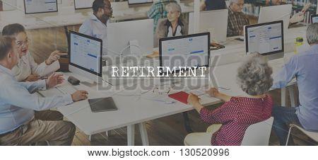 Retirement Wealth Adult Profit Mature Concept