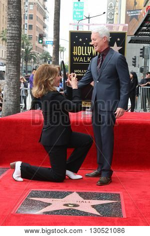 LOS ANGELES - MAY 19:  Deidre Hall, Greg Meng at the Deidre Hall Hollywood Walk of Fame Ceremony at Hollywood Blvd. on May 19, 2016 in Los Angeles, CA