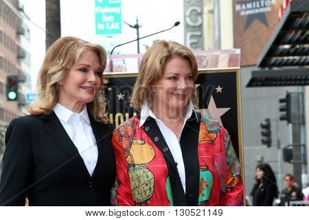 LOS ANGELES - MAY 19:  Deidre Hall, Andrea Hall Gengler at the Deidre Hall Hollywood Walk of Fame Ceremony at Hollywood Blvd. on May 19, 2016 in Los Angeles, CA