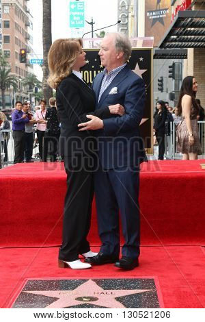 LOS ANGELES - MAY 19:  Deidre Hall, Ken Corday at the Deidre Hall Hollywood Walk of Fame Ceremony at Hollywood Blvd. on May 19, 2016 in Los Angeles, CA