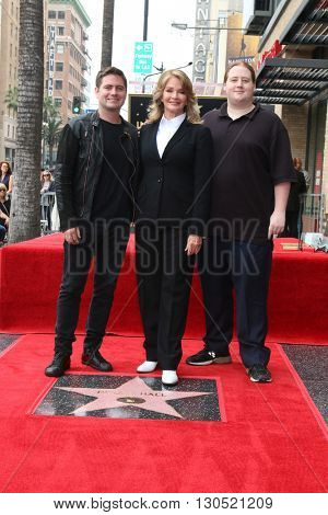 LOS ANGELES - MAY 19:  David Atticus Sohmer, Deidre Hall, Tully Chapin Sohmer at the Deidre Hall Hollywood Walk of Fame Ceremony at Hollywood Blvd. on May 19, 2016 in Los Angeles, CA