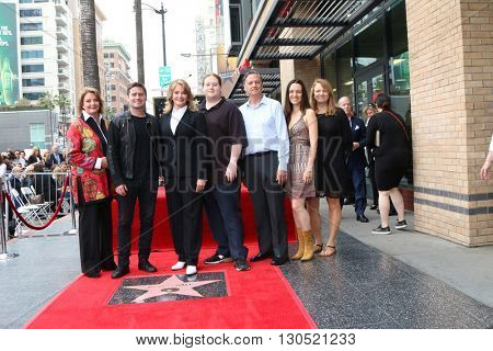 LOS ANGELES - MAY 19: Andrea Gengler, David Sohmer, Deidre Hall, Tully Sohmer, Bill Hall, family at the Deidre Hall Hollywood Walk of Fame Ceremony at Hollywood Blvd on May 19, 2016 in Los Angeles, CA