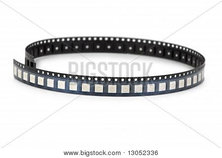Smd Leds In The Plastic Ribbon