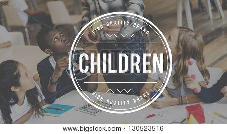 Children Kids Fun Childhood Concept