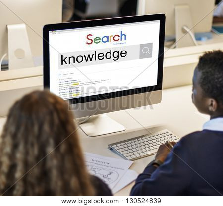 Knowledge Intelligence Search Engine Optimization Concept