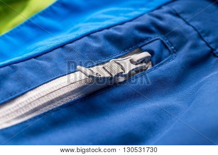 Winter Jacket Pocket