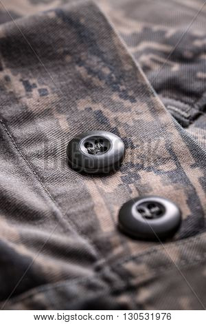 Shirt With Camouflage Pattern