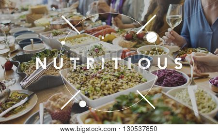Nutritious Eating Food Healthy Nourishment Concept