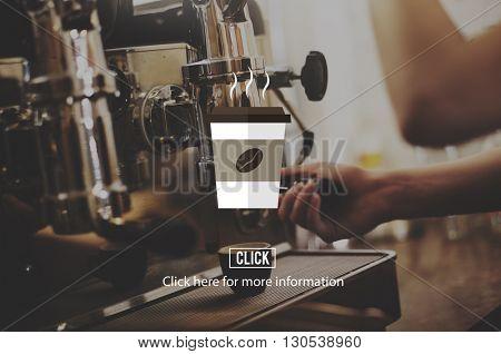 Coffee Shop Cup Hot Beverage Concept