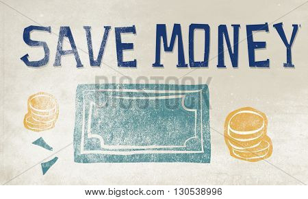 Money Cost Accounting Earn Cash  Concept