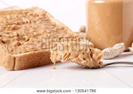Peanut Butter In Jar