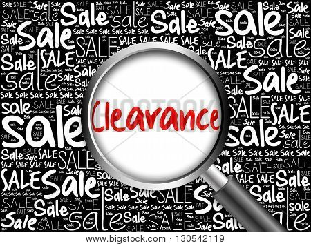 Clearance Sale Word Cloud
