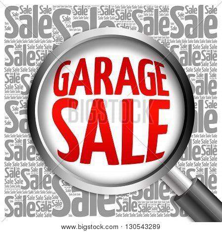 Garage Sale Word Cloud