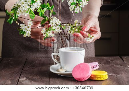 Spring Breakfast Concept