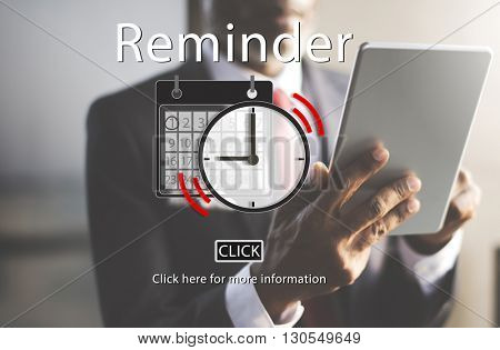 Time Alarm Deadline Countdown Concept
