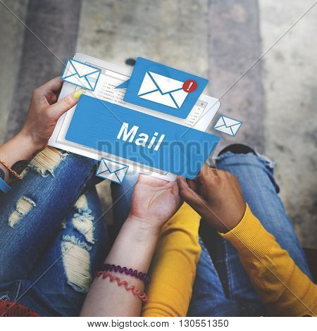 Mail Communication Connection Global Letters Concept