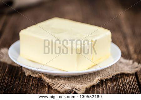 Fresh Butter (selective Focus; Close-up Shot)
