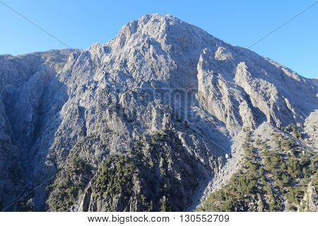 Mountains In Crete
